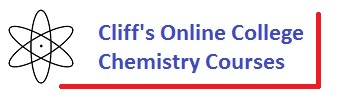 Cliff's Online College Chemsitry graphic